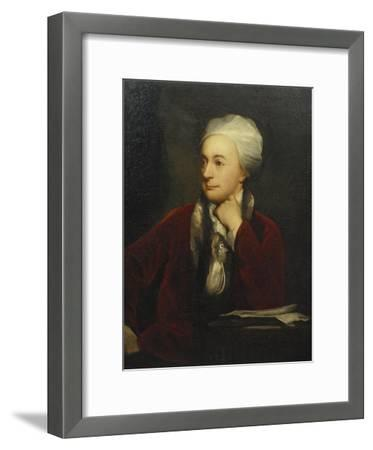 Portrait of William Cowper, Red Coat with a Fur Collar and a White Cap, 18th Century