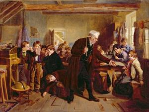 The Village School, 1857 by William Henry Knight