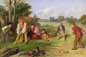 The Village Team, 1856 by William Henry Knight