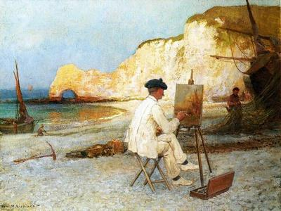 A Painter by the Sea Side, C.1885