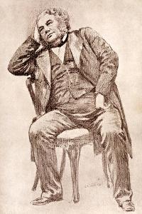 Mark Lemon, 19th Century Editor of Punch Magazine by William Henry Margetson