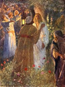 The Betrayal by William Henry Margetson
