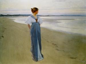 The Seashore, 1900 by William Henry Margetson