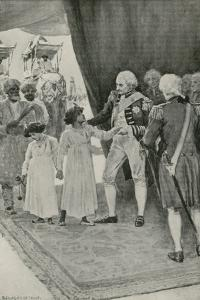 The Sons of Sultan Tippu are Received by Lord Cornwallis as Hostages by William Henry Margetson