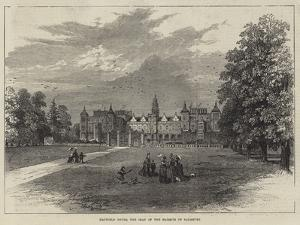Hatfield House, the Seat of the Marquis of Salisbury by William Henry Pike
