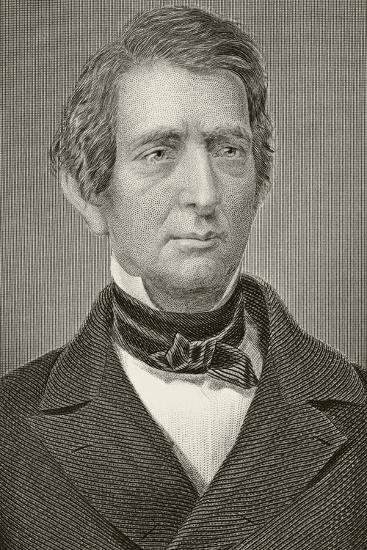 William Henry Seward, from 'Gallery of Historical Portraits', Published C.1880--Giclee Print