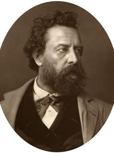William Hepworth Dixon, Historian and Traveller, 1881--Photographic Print