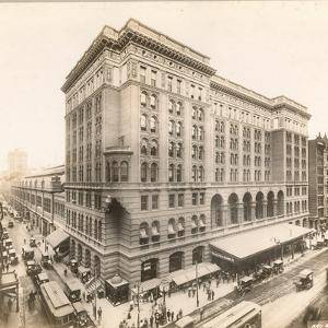 Market Street at 12th, 1912 by William Herman Rau