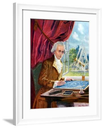 William Herschel (1738-182) German-Born English Astronomer--Framed Giclee Print