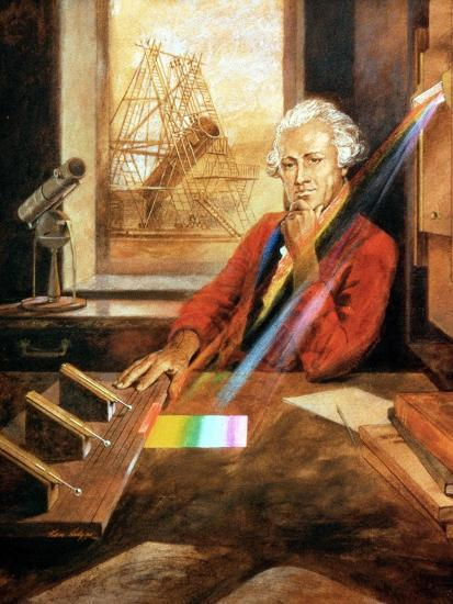 William Herschel (1738-1822) German-born English astronomer. Artist: Unknown-Unknown-Giclee Print