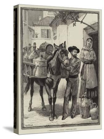 A Vendor of Oil and Vinegar, a Sketch Near Lisbon