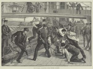 Life on Board a Man-Of-War, Junior Officers at Hockey by William Heysham Overend