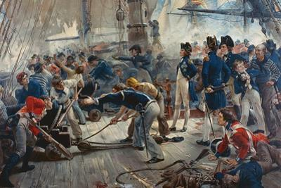 The Hero of Trafalgar by William Heysham Overend