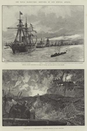 The Naval Manoeuvres by William Heysham Overend