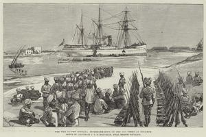 The War in the Soudan, Disembarkation of the 15th Sikhs at Souakim by William Heysham Overend