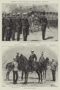 Troops at the Opening of the Imperial Institute by William Heysham Overend