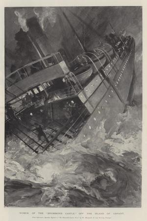 Wreck of the Drummond Castle Off the Island of Ushant