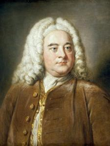 Portrait of George Frederick Handel by William Hoare