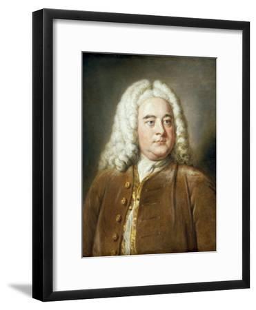 Portrait of George Frederick Handel