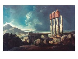 Cook: Easter Island, 1774 by William Hodges