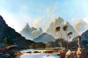 Cook: Tahiti, 1773 by William Hodges