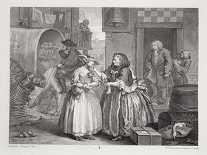 A Harlot's Progress, Plate I, from the 'Original and Genuine Works of William Hogarth' by William Hogarth