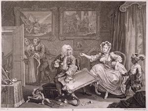 A Harlot's Progress, Plate Ii, from 'The Original and Genuine Works of William Hogarth' by William Hogarth