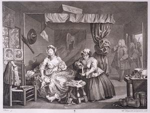 A Harlot's Progress, Plate Iii, from 'The Original and Genuine Works of William Hogarth' by William Hogarth
