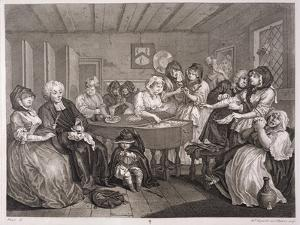 A Harlot's Progress, Plate Vi, from 'The Original and Genuine Works of William Hogarth' by William Hogarth
