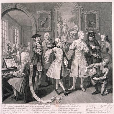 A Rake's Progress, 1735