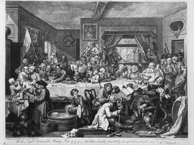 An Election Entertainment, 1755