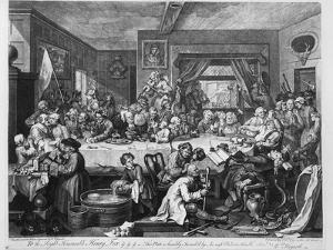 An Election Entertainment, 1755 by William Hogarth