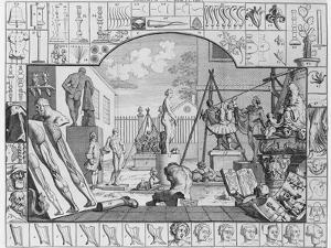 Analysis of Beauty, Plate 1, 1753 by William Hogarth