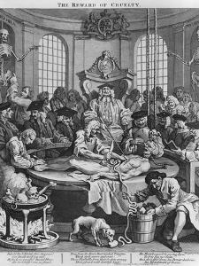 Autopsy or the Reward of Cruelty, from the Four Stages of Cruelty, 1751 by William Hogarth