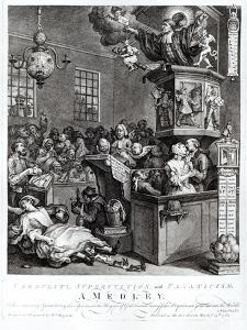 Credulity, Superstition and Fanaticism, 1762 by William Hogarth