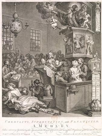 Credulity, Superstition and Fanaticism. a Medley, 1762