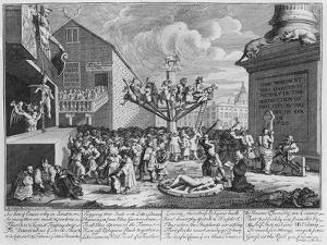 Emblematical Print of the South Sea Scheme, 1721 by William Hogarth