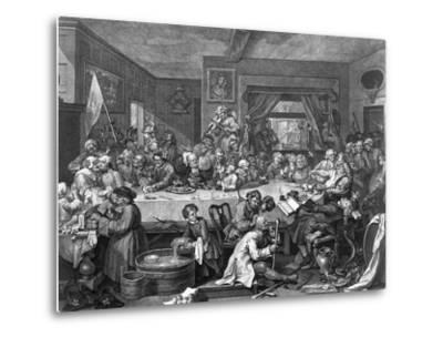 Engraving after an Election Entertainment