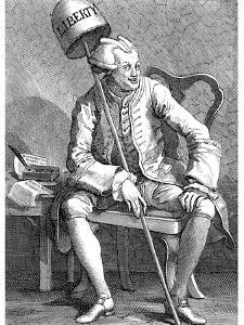John Wilkes, English Politician, 1763 by William Hogarth