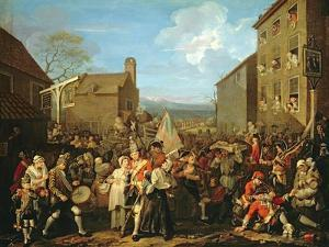 March of the Guards to Finchley, 1750 by William Hogarth
