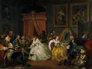 Marriage A-La-Mode: 4. The Toilette, 1743 by William Hogarth