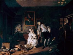 Marriage A-La-Mode: 5, the Bagnio, C1743 by William Hogarth