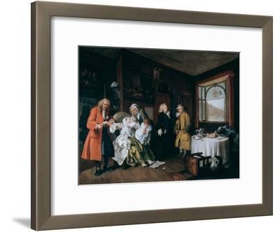 Marriage A-La-Mode: 6, the Lady's Death, C1743