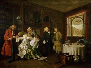 Marriage a La Mode: the Death of the Countess, C. 1742-44 by William Hogarth
