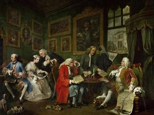 Marriage a La Mode: The Death of the Countess, circa 1742-44 by William Hogarth