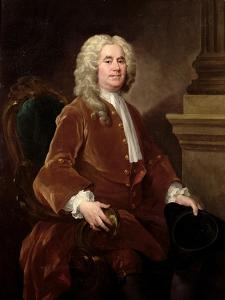 Portrait of William Jones, 1740 by William Hogarth