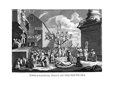 South Sea Bubble, 1721