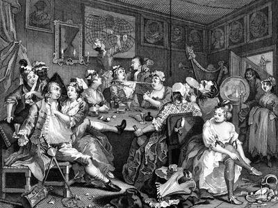 Tavern Scene from the Rake's Progress, 1735