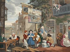 The Election II: Canvassing for Votes from 'Hogarth Restored by William Hogarth