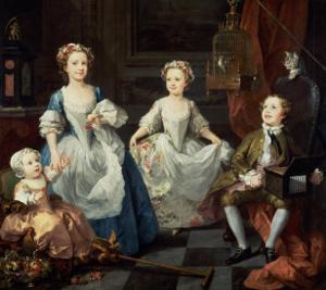The Graham Children, 1742 by William Hogarth